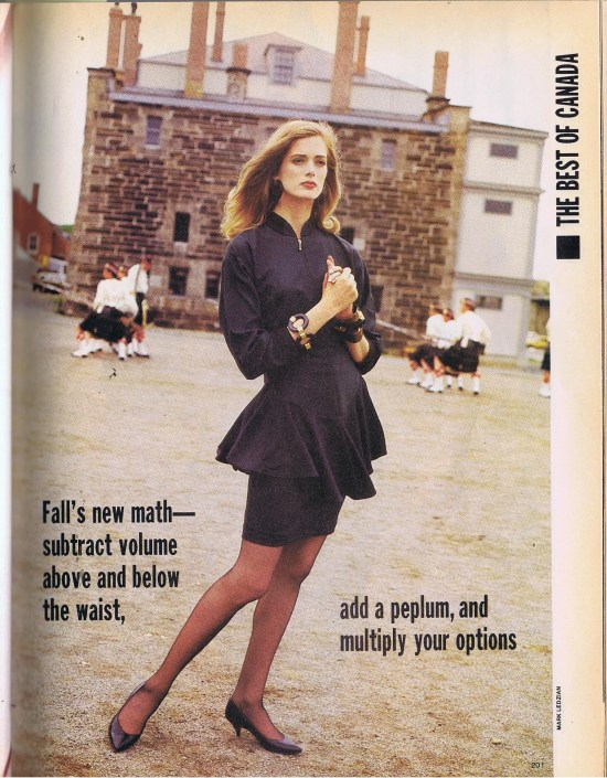 HOAX COUTURE FLARE SEPTEMBER 1986