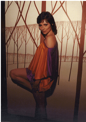 LEIGHTON BARRET 1980 FLARE  model: JEANNE BEKER