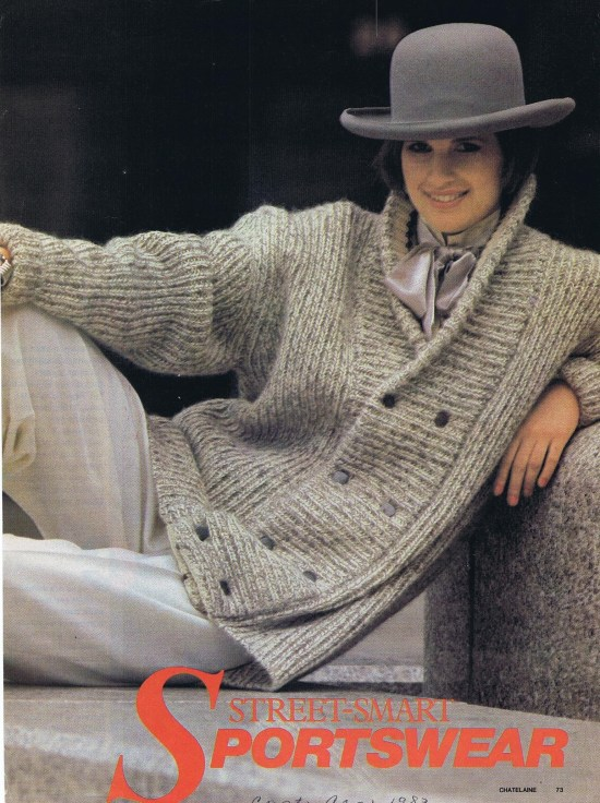MARILYN BROOKS CHATELAINE FALL 1983