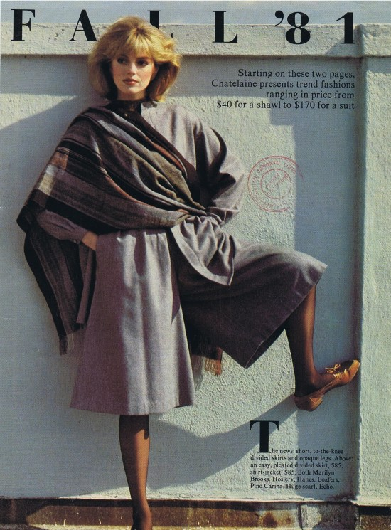 MARILYN BROOKS CHATELAINE SEPTEMBER 1981