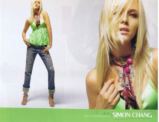 SIMON CHANG FASHION MARCH 2006