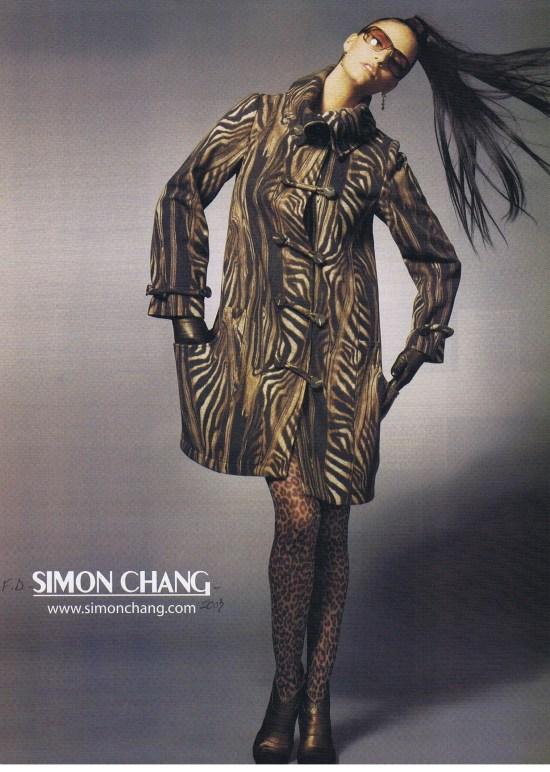 SIMON CHANG FASHION OCTOBER 2007