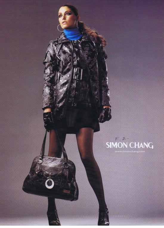 SIMON CHANG FASHION SEPTEMBER 2008