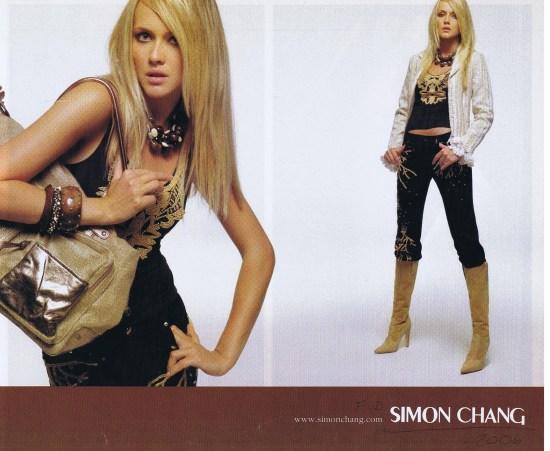 SIMON CHANG LOOK SUMMER 2006