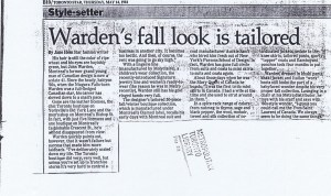 JOHN WARDEN TO STAR 05 05 1984