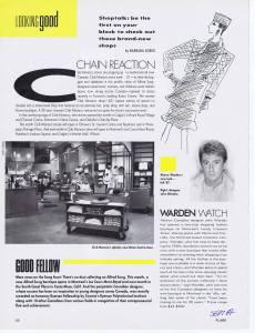 JOHN WARDEN FLARE 1987