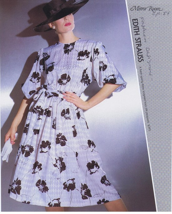 EDITH STRAUSS SPRING 1984