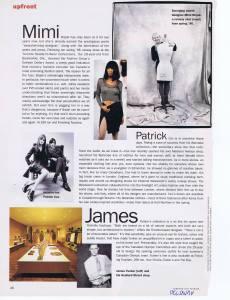 JAMES YUNKER FASHION DEC 1996