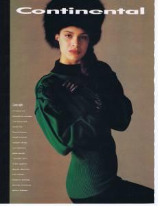 LYSE SPENARD FLARE 1987