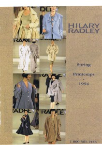 HILARY RADLEY FLARE MARCH 1994