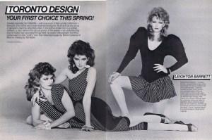 LEIGHTON BARRETT FASHION 1980