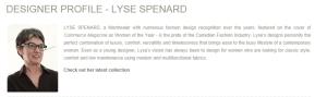 LYSE SPENARD BYLYSE FROM WEBSITE