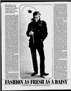 JOHN WARDEN MONTREAL GAZETTE MARCH 1966