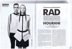 RAD HOURANI DRESSED TO KILL SPRING 2012