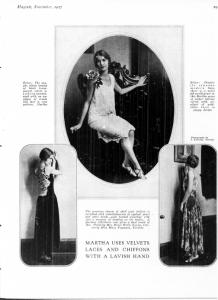 MARTHA MAYFAIR NOV 1927