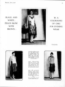 MARTHA MAYFAIR APRIL 1928