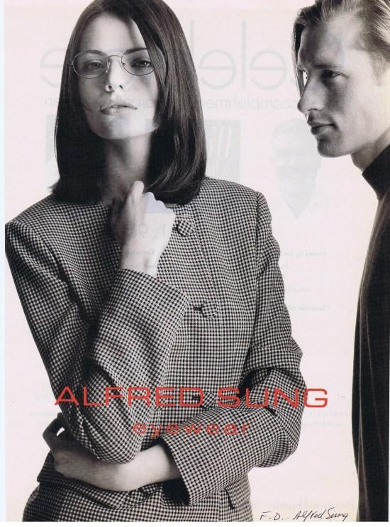 ALFRED SUNG FASHION APRIL 1996