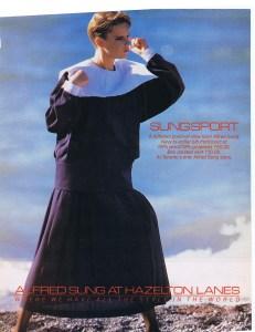 ALFRED SUNG FLARE NOVEMBER 1984