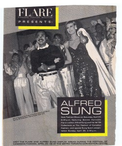ALFRED SUNG FLARE 1985