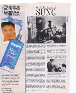 ALFRED SUNG FLARE APRIL 1985