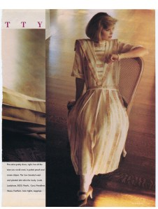LINDA LUNDSTROM CHATELAINE MARCH 1985
