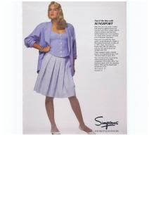 ALFRED SUNG FASHION  NOVEMBER 1987