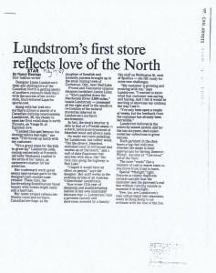 LINDA LUNDSTROM TORONTO STAR 04 .05 1987