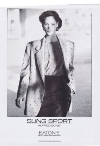 ALFRED SUNG FLARE MARCH 1990