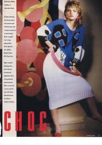 MARCELLE DANAN CHATELAINE FEBRUARY 1986