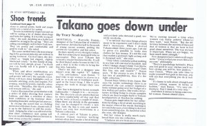 MARCELLE DANAN STYLE 02. 09. 1986