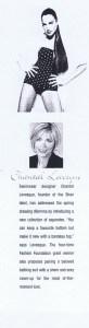 CHANTAL LEVESQUE / SHAN MATINEE SPRING 1997