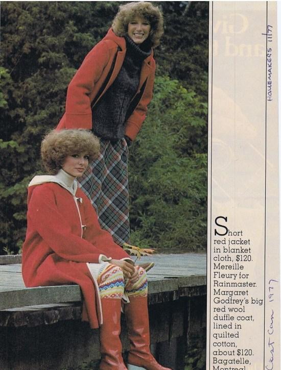 MARIELLE FLEURY HOMEMAKERS NOVEMBER 1977