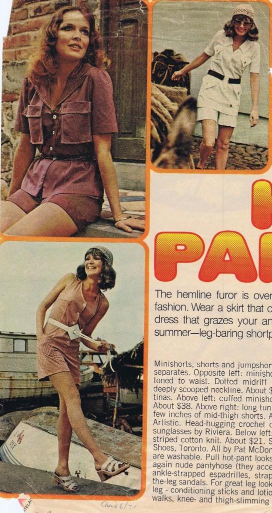PAT MCDONAGH CHATELAINE JUNE 1971