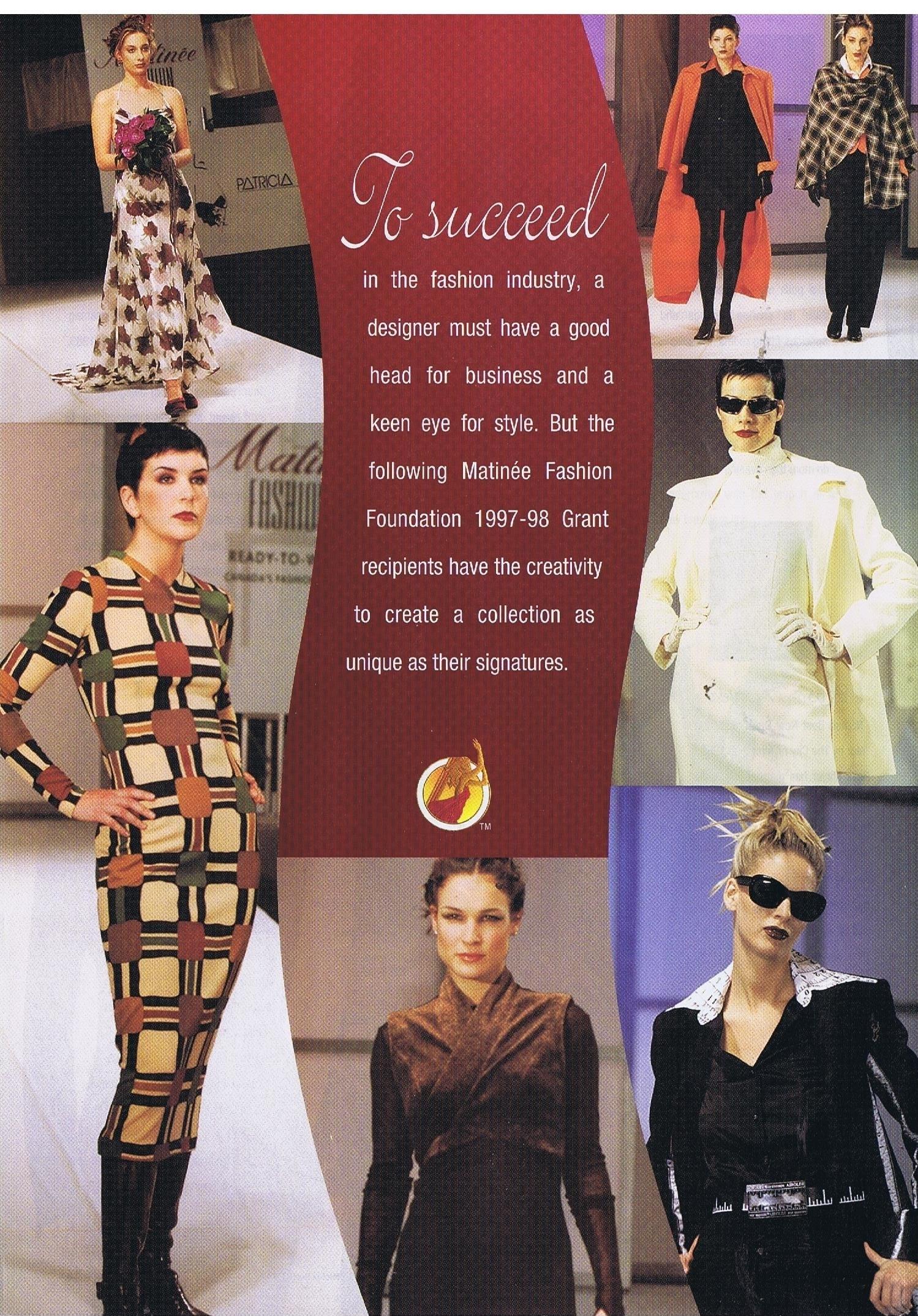 Canada Fashion Magazine: 1997