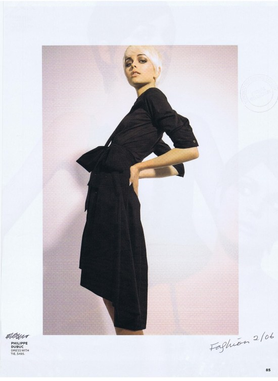 5 2006 PHILLIPE DUBUC FASHION FEBRUARY 2006