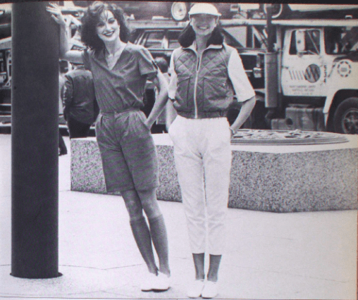 GABRIEL LEVY CANADA FASHION MODE 1980