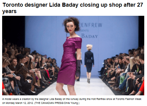 LIDA BADAY CANADIAN PRESS JUNE 13, 2013