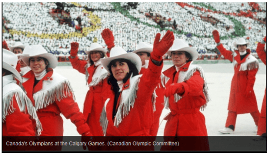 WINTER OLYMPIC UNIFORMS CBC 9