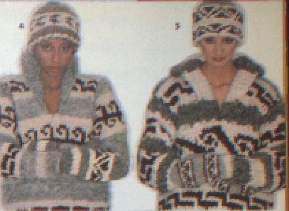 ORIGIAN COWICHAN SWEATERS CANADIAN FASHION / MODE 1979