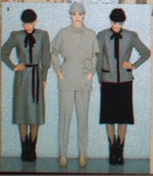 MICHEL ROBICHAUD CANADIAN FASHION / MODE 1979