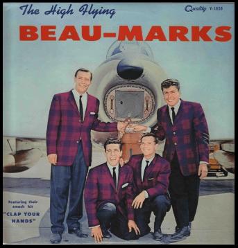"THE BEAU-MARKS ""HIGH FLYING BEAU-MARKS"" 1960"