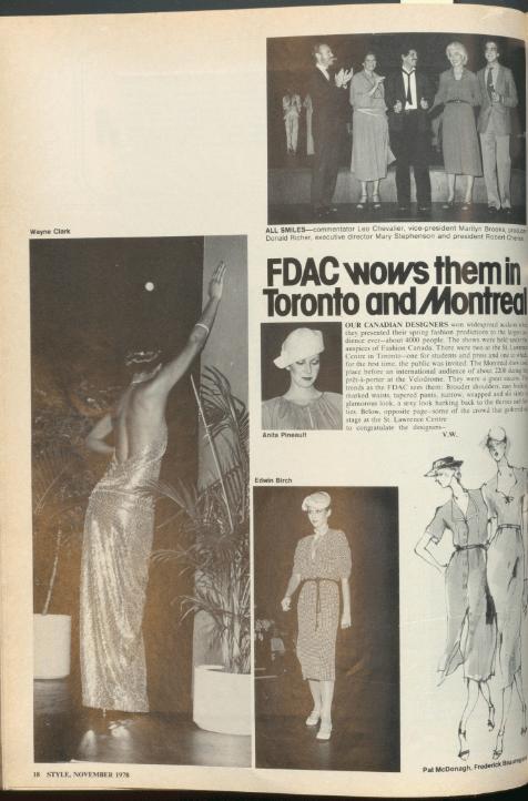 FDAC STYLE NOVEMBER 1979