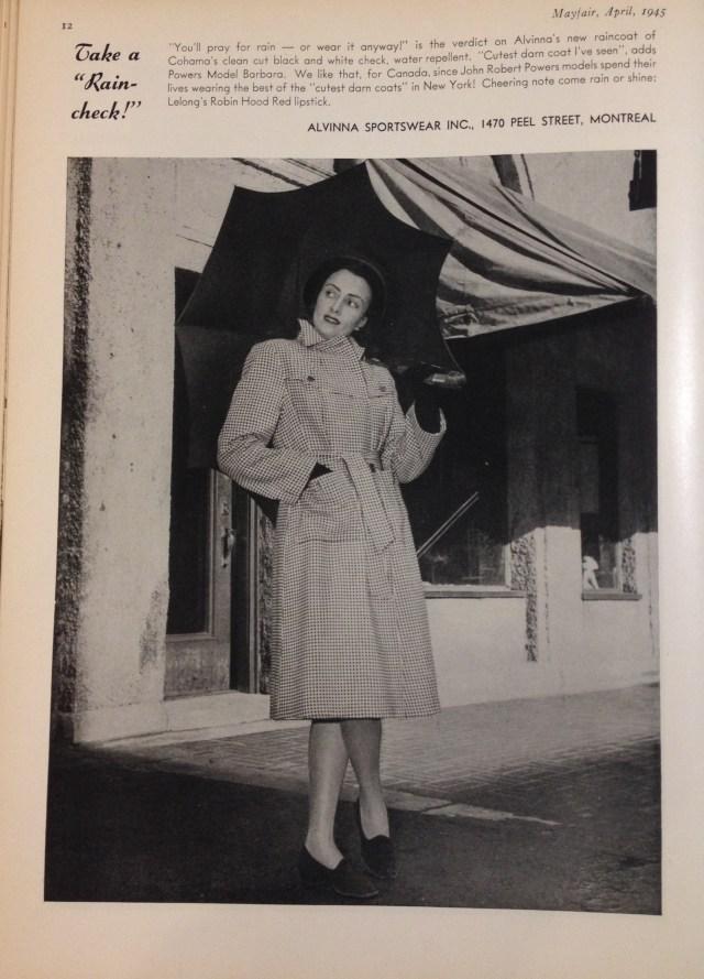alvina cioat oham fabric (cndn) mayfiar april 1945