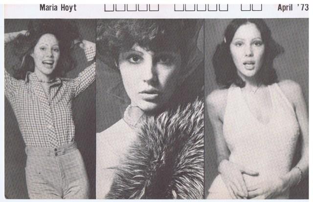 INTERNATIONAL TOP MODELS MARIA HOYT 1973