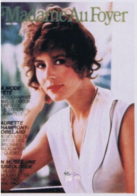 MADAM AN FOYER MARIA HOYT MAY 1981