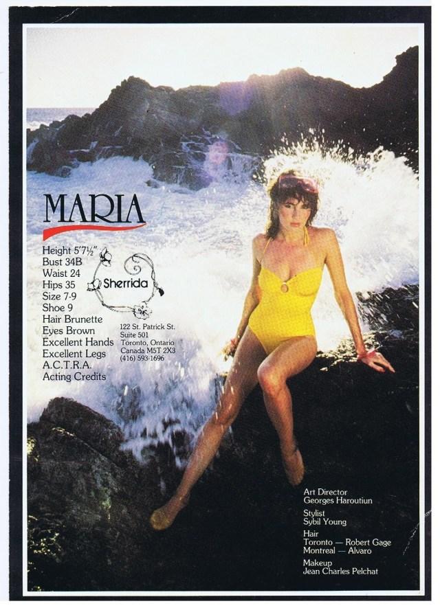 SHERRIDA MARIA HOYT 1981