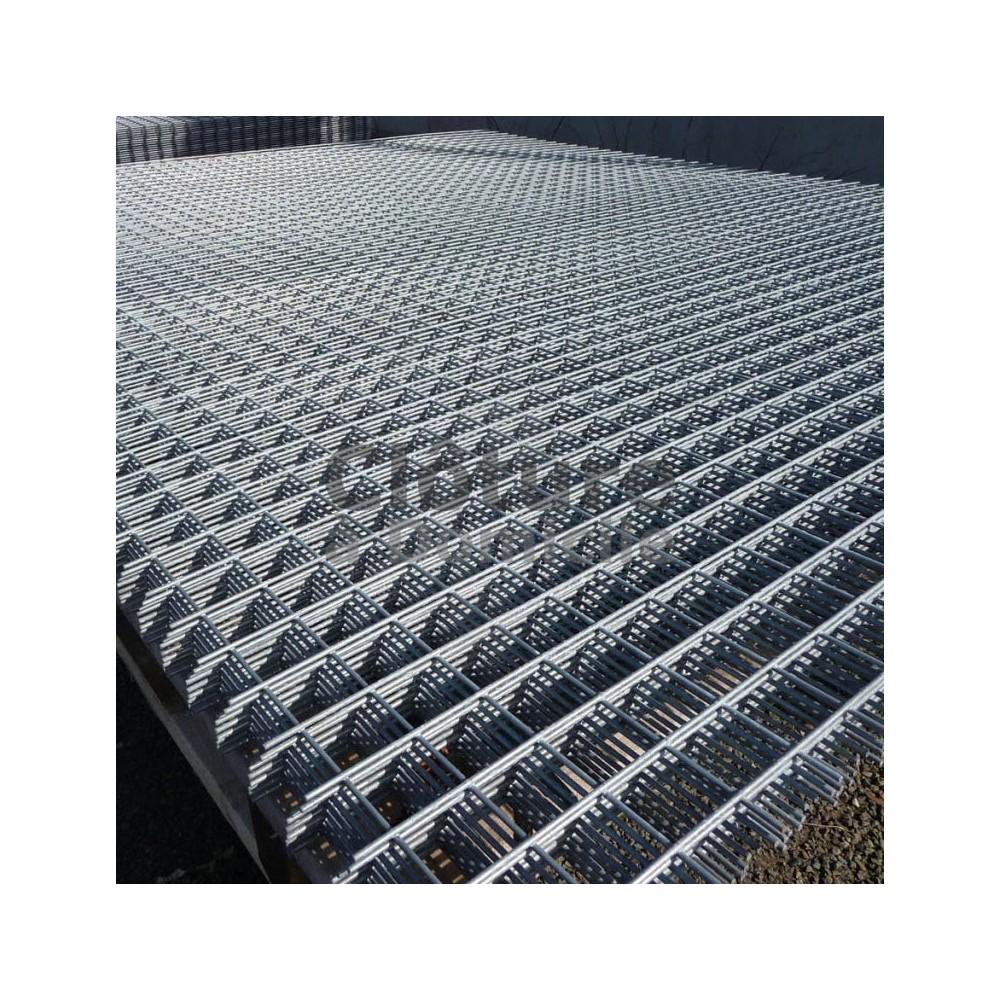 panneaux serruriers panneaux serruriers galvanises d4 maille 50x50 fil 4 0mm dim 2000x1000