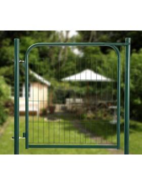portillon grillage vert garden largeur 1 00m