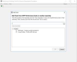 Microsoft WPF performance suite