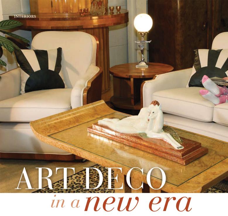 Lancashire Life Cloud 9 Art Deco Furniture Sales